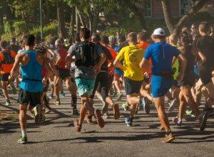 Course à pied - marathon - réflexologie
