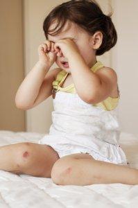 réflexologie bébé enfant contre-indications