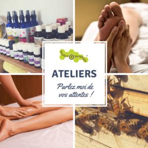 Réflexologie - aromathérapie - massage - bien-être - ateliers - DIY