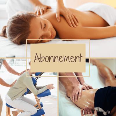 Bon cadeau abonnement massage bien-être