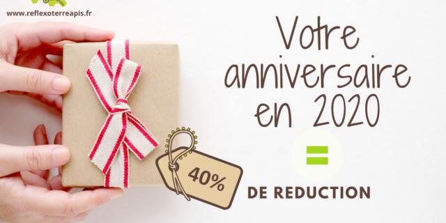 Anniversaire 2020 40% réduction ReflexoTerreApis Groisy
