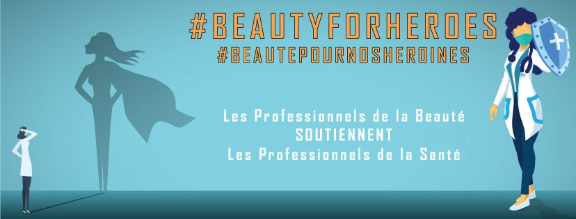 Solidarité personnels soignants #BeautyForHeroes