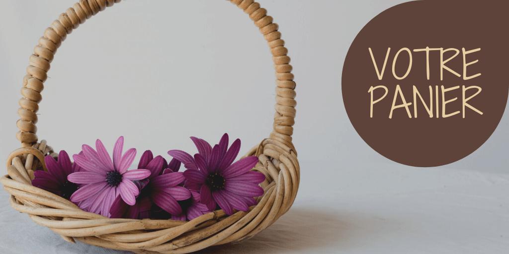 Panier commande bon cadeau boutique bien-être réflexologie massage Groisy Annecy