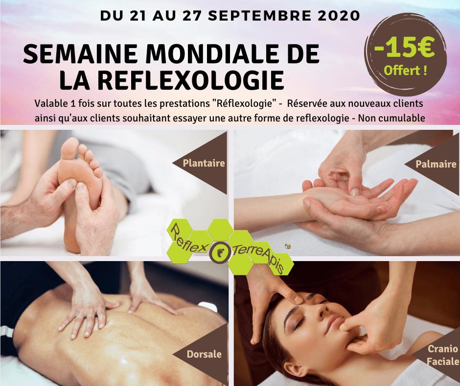 Cabinet réflexologie massage coronavirus covid-19 ouverture Groisy Haute-Savoie